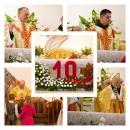 10 lat konsekracji kościoła