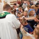 9-IX-2018r. Msza Św. z błogosławieństwem przyborów szkolnych