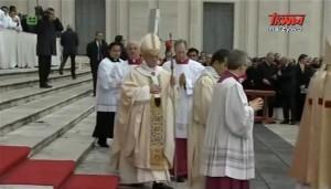 Eucharystia w Niedzielę Chrystusa Króla Wszechświata