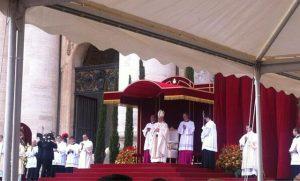Obrzęd kanonizacyjny Jana XXIII i Jana Pawła II