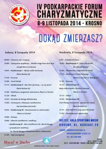 Forum Charyzmatyczne w Krośnie 8_9-11-2014