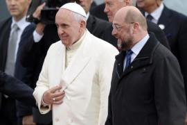 OJCIEC ŚWIĘTY Franciszek w PARLAMENCIE EUROPEJSKIM