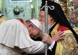 Ojciec Święty Franciszek w Stambule