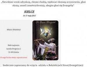 Rekolekcje w Kielcach