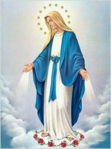 MARYJA NIEPOKALANIE POCZĘTA UCZY NAS IŚC ZA JEZUSEM