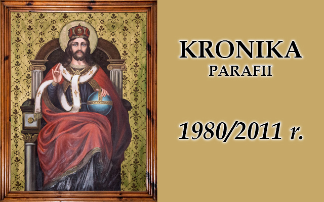 Kronika baner rok 1980-2011
