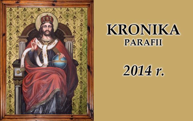 Kronika baner rok 2014