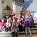 Figura św. Michała Archanioła - dzieci z Betanii