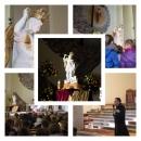 Figura św. Michała Archanioła - spotkanie dzieci i młodzieży