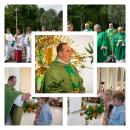 Powitanie nowego księdza proboszcza Jacka Michno