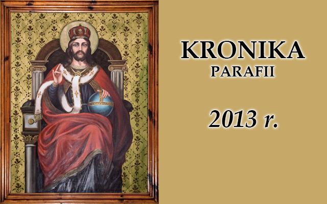 Kronika baner rok 2013