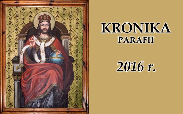 Kronika baner rok 2016 cz